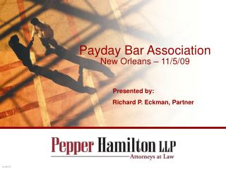 Payday Bar Association New Orleans   11
