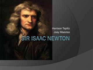 Ppt isaac newton powerpoint presentation id:5150189