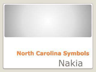 North Carolina Symbols