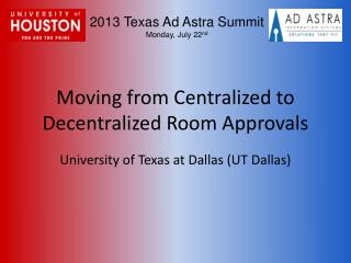 Moving from Centralized to Decentralized Room Approvals