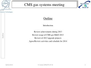 CMS gas systems meeting