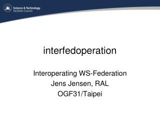 interfedoperation