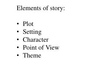Understanding The Short Story