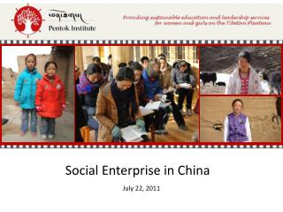 Social Enterprise in China