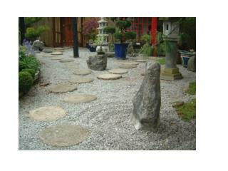 "The  Japanese  Rock Gardens  or  ""dry landscape""  gardens, often"