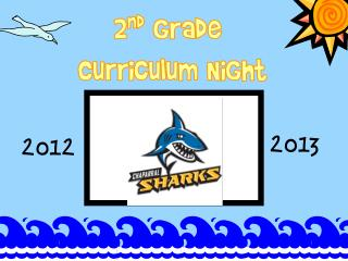 2 nd  Grade  Curriculum Night