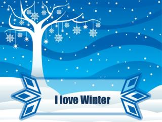 I love Winter