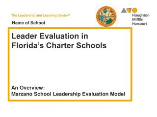 Leader Evaluation in Florida's Charter Schools