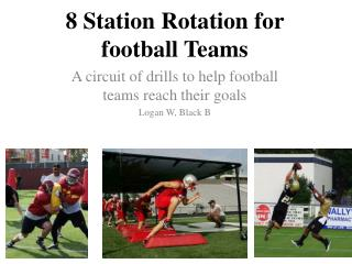 8 Station Rotation for football Teams