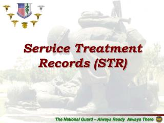Service Treatment Records (STR)