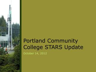 Portland Community College STARS Update