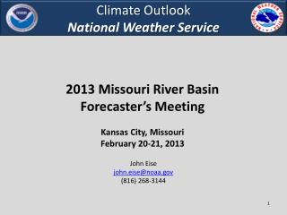 Climate  Outlook National Weather Service