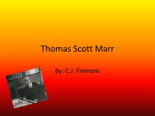 Thomas Scott Marr