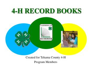4-H RECORD BOOKS