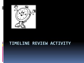 Timeline  Review Activity
