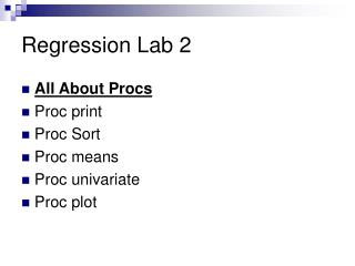 Regression Lab 2