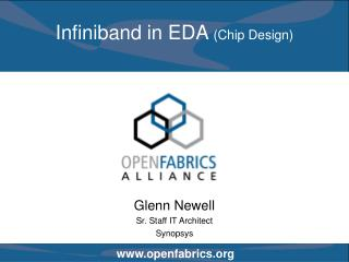 Infiniband in EDA  (Chip Design)