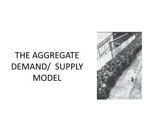 THE AGGREGATE  DEMAND/  SUPPLY  MODEL