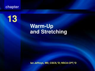 Warm-Up and Stretching