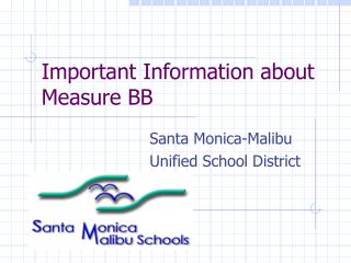 Important Information about Measure BB