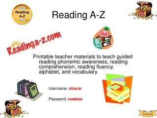 Reading A-Z