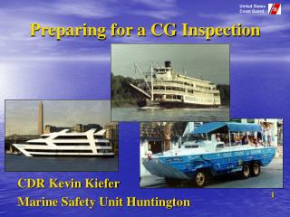 Preparing for a CG Inspection