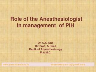 anaesthesia.co anaesthesia.co@gmail