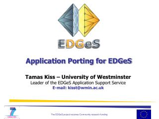Application Porting for EDGeS