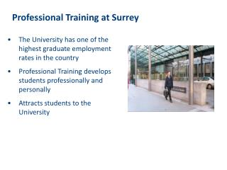 Professional Training at Surrey