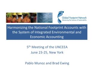 5 th  Meeting of the UNCEEA June 23-25, New York Pablo Munoz and Brad Ewing