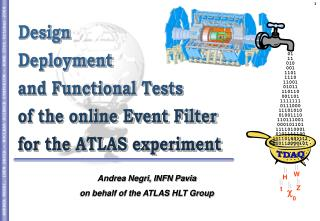 Design Deployment and Functional Tests  of the online Event Filter for the ATLAS experiment
