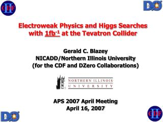 Electroweak Physics and Higgs Searches with  1fb -1  at the Tevatron Collider