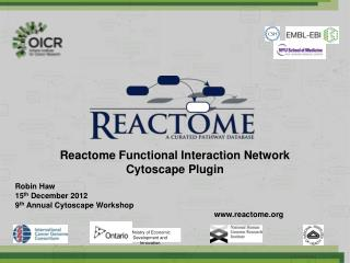 Reactome Functional Interaction Network  Cytoscape Plugin