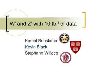 W' and Z' with 10 fb -1  of data