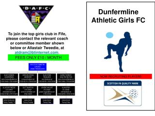 Dunfermline Athletic Girls FC