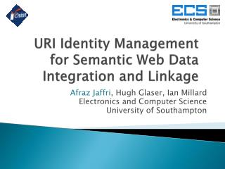 URI Identity Management for Semantic Web Data Integration and Linkage