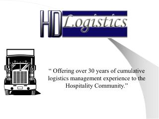 HD Logistics, LLC.