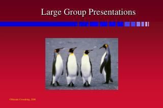 Large Group Presentations
