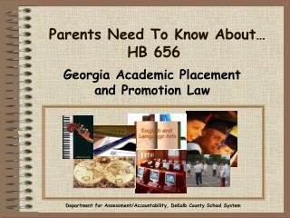 Parents Need To Know About… HB 656