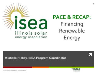 PACE & RECAP :  Financing Renewable Energy