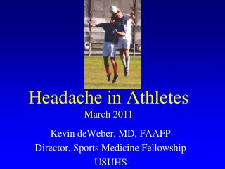 Headache in Athletes March 2011