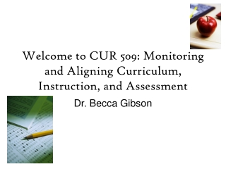 Bringing IT to the Classroom Floor:  Effective Programs Curriculum, Instruction  and Assessment