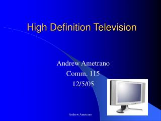 High Definition Television
