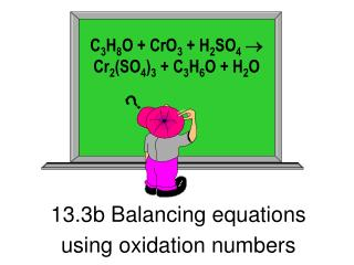 13.3b Balancing equations  using oxidation numbers