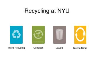 Recycling at NYU