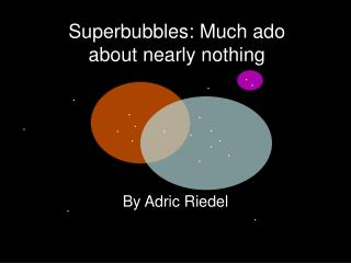 Superbubbles: Much ado about nearly nothing