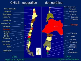 CHILE : geográfico