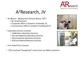 A 2 Research, JV