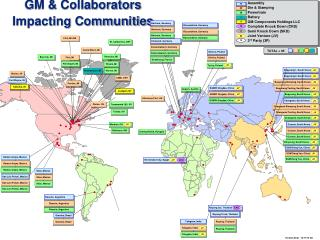 GM & Collaborators Impacting Communities