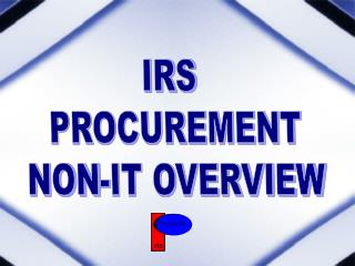 IRS  PROCUREMENT NON-IT OVERVIEW